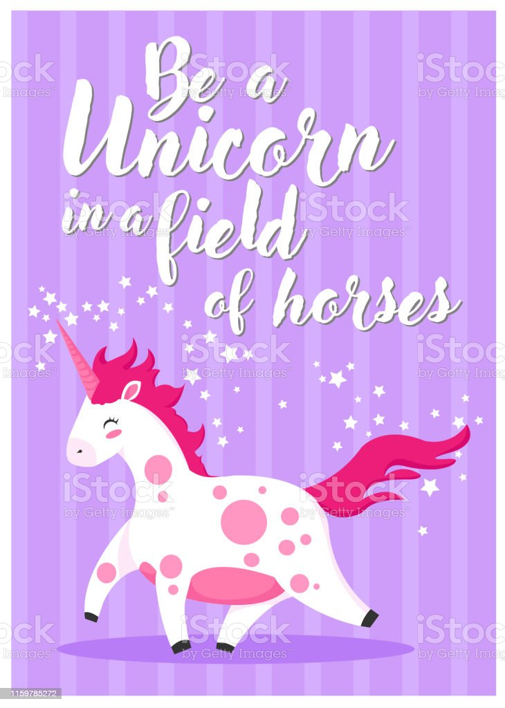 It is an image of Peaceful Be a Unicorn in a Field of Horses Free Printable