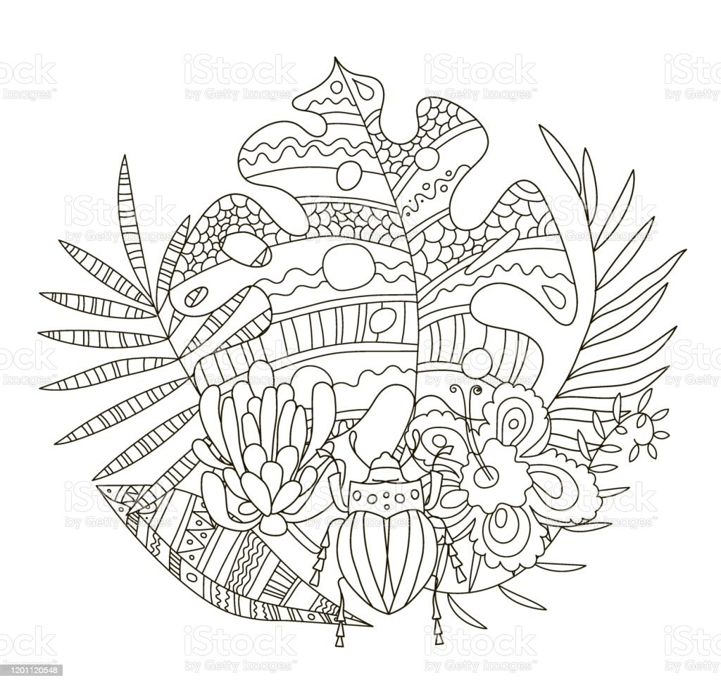 Printable Hawaiian Coloring Pages - Coloring Home | 973x1024