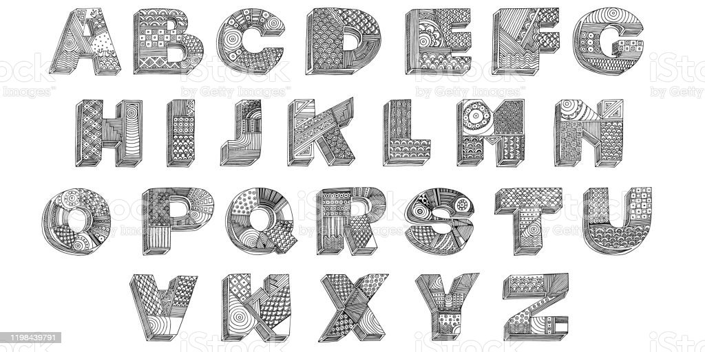 Classic Alphabet Printables | Learning Letters | Free | Numbers | 512x1024