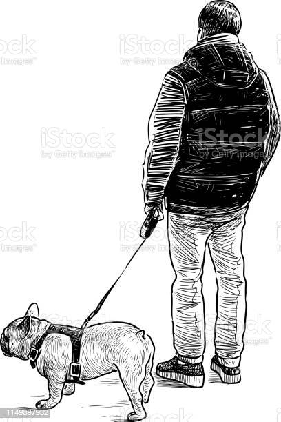 Hand drawing of a townsman with his pet on a stroll vector id1149897932?b=1&k=6&m=1149897932&s=612x612&h=qyhmzo0ski9fhlwdjttpuredk9bho3kifg6bmdtmuri=