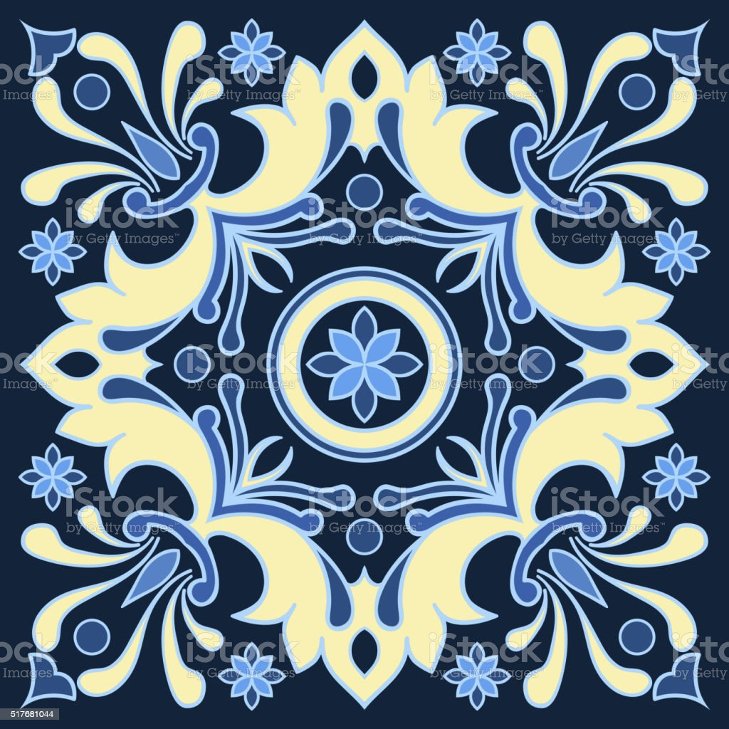 Dessin à La Main Motif à Carreaux Dans Des Tons Bleu Et Jaune Vecteurs Libres De Droits Et Plus Dimages Vectorielles De Abstrait