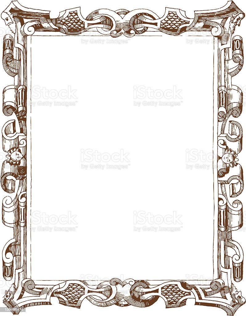 Picture Frame Drawing Image collections - Craft Decoration ...