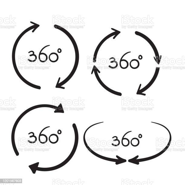 Hand drawn 360 degree view related vector icons design template vector id1201567603?b=1&k=6&m=1201567603&s=612x612&h=bm67eb7okkqttoelzsnemq6bstso11naaypaoxu7pvg=
