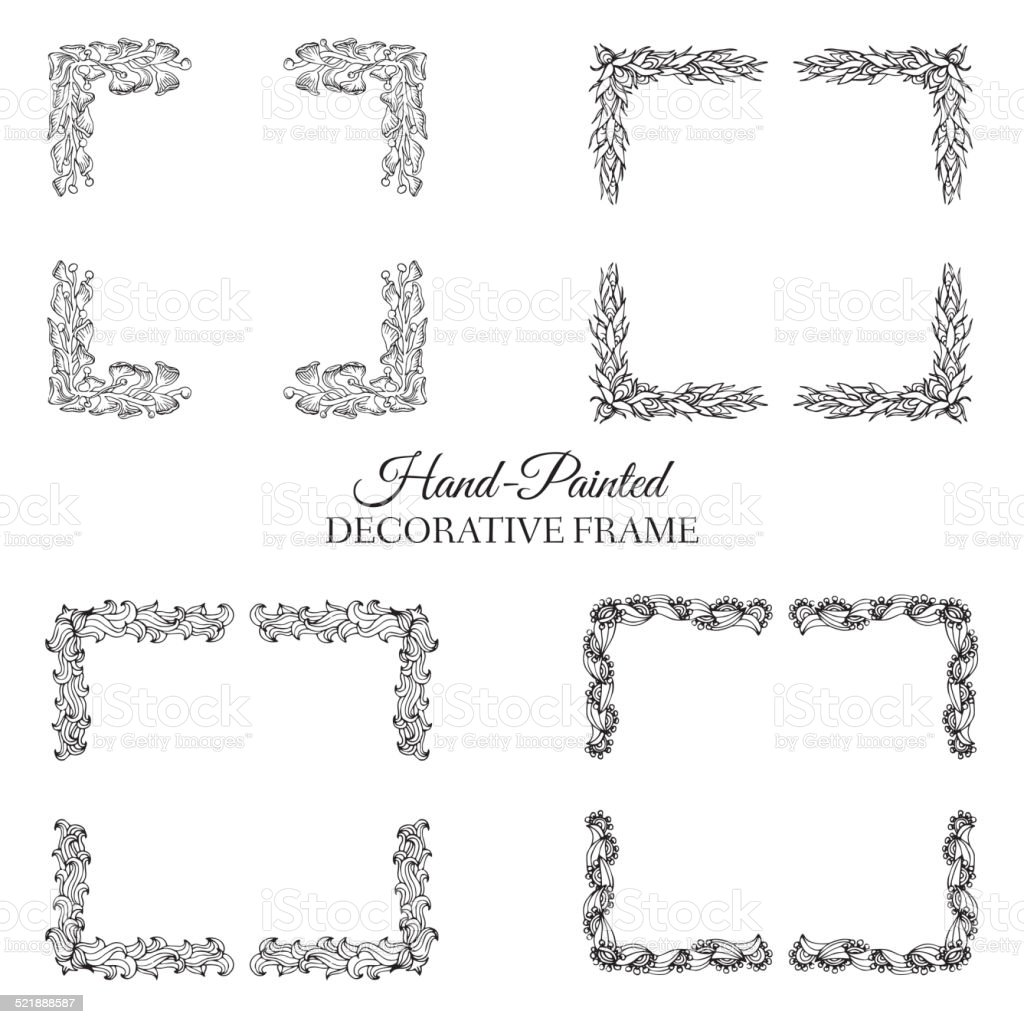 Hand drawn abstract background frame vintage traditional indian arizona calligraphy japanese script page arizona periodic table urtaz Images