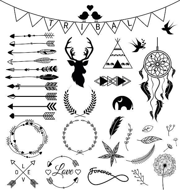 Indian Arrowhead Illustrations, Royalty-Free Vector ...