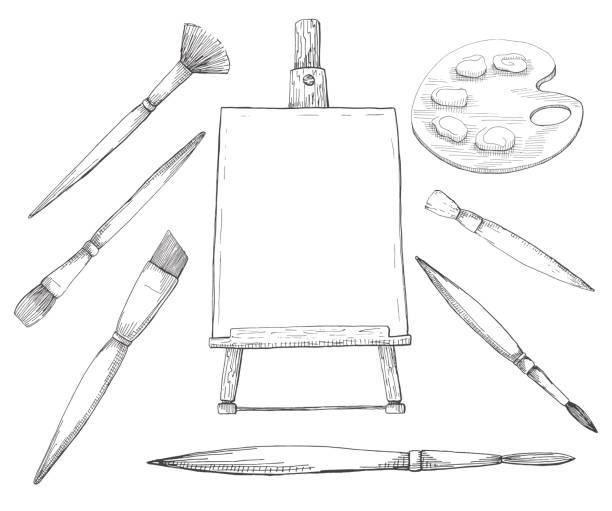 Hand drawn artwork. Vector illustration of a sketch style. vector art illustration