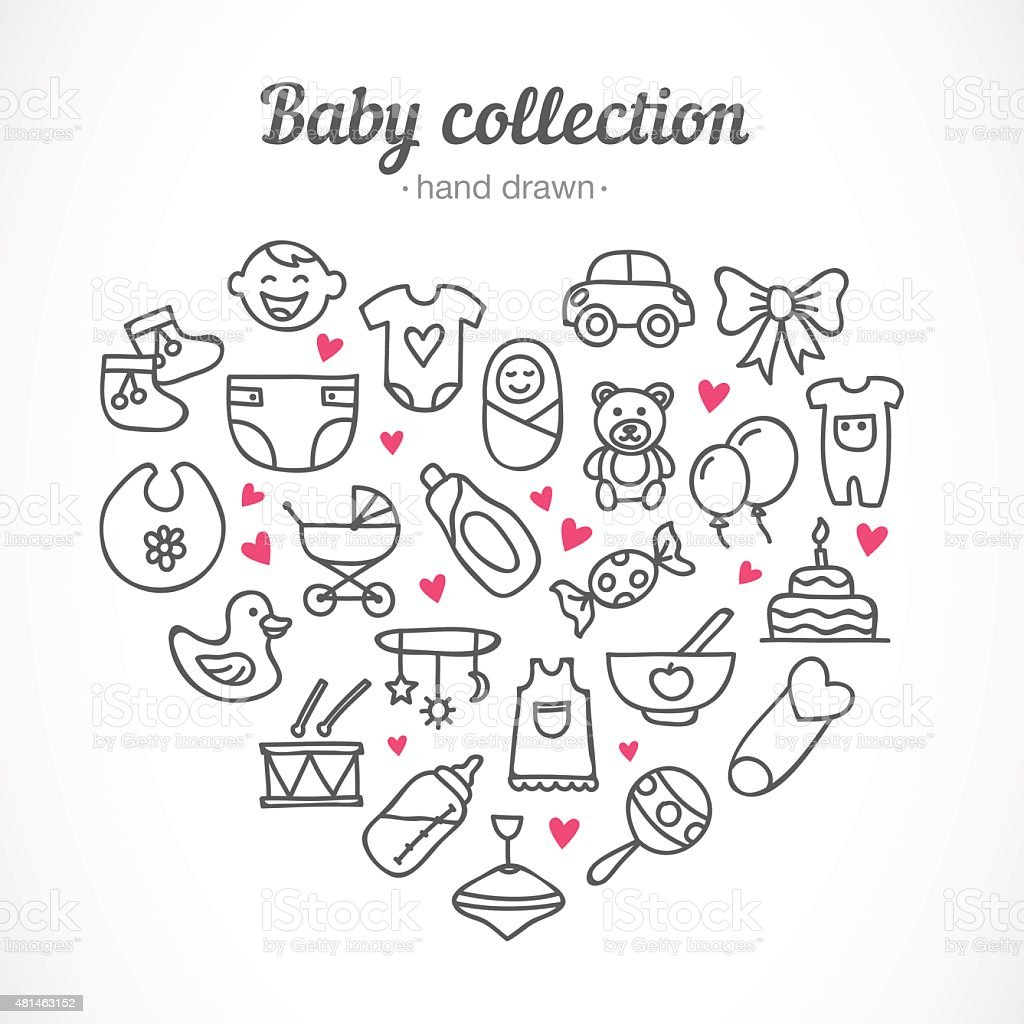 toys, food, clothes, baby staff