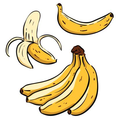 Hand drawn Bananas