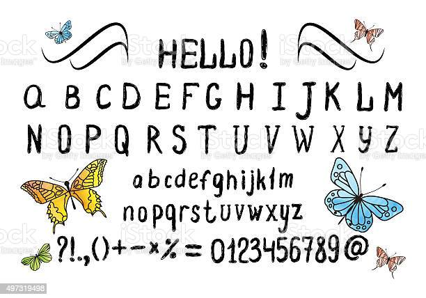 Hand drawn calligraphic font and artistic butterflies vector id497319498?b=1&k=6&m=497319498&s=612x612&h=jdp8ywgmu8upafjdjy7v4fzitglr1hd1sqyi9 2gueu=