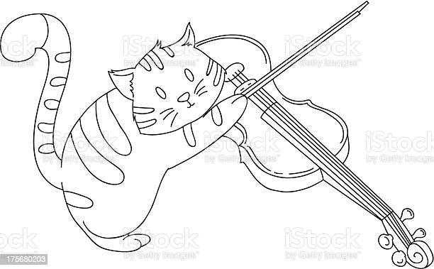 Hand drawn cat playing violin vector id175680203?b=1&k=6&m=175680203&s=612x612&h=w44jsjolafvvmuo4lh59afmlibxjf3np7xda4lnkzqe=