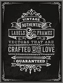 Hand Drawn Chalk Vintage Poster