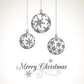 Hand Drawn Christmas Ornaments
