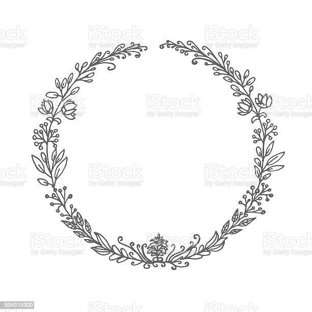 Hand drawn circle floral frame vector id534315300?b=1&k=6&m=534315300&s=612x612&h=dsk37olommydflfmyqieeonkglmfi8jupono2mqsubw=