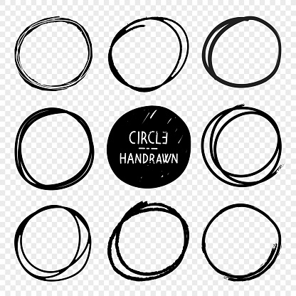 Hand Drawn Circles sketches
