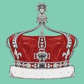 Hand drawn Crown.