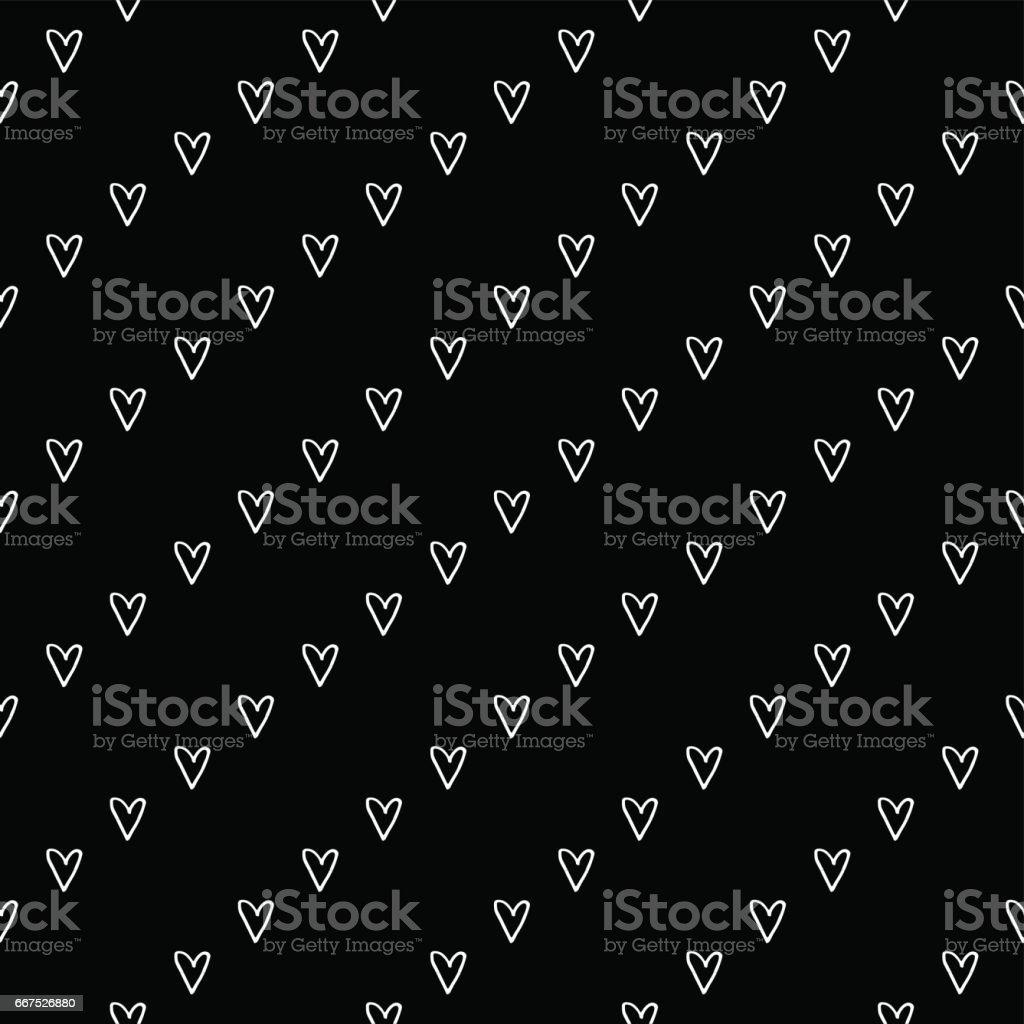 Hand Drawn Diagonal Stripes Seamless Pattern hand drawn diagonal stripes seamless pattern - immagini vettoriali stock e altre immagini di alla moda royalty-free