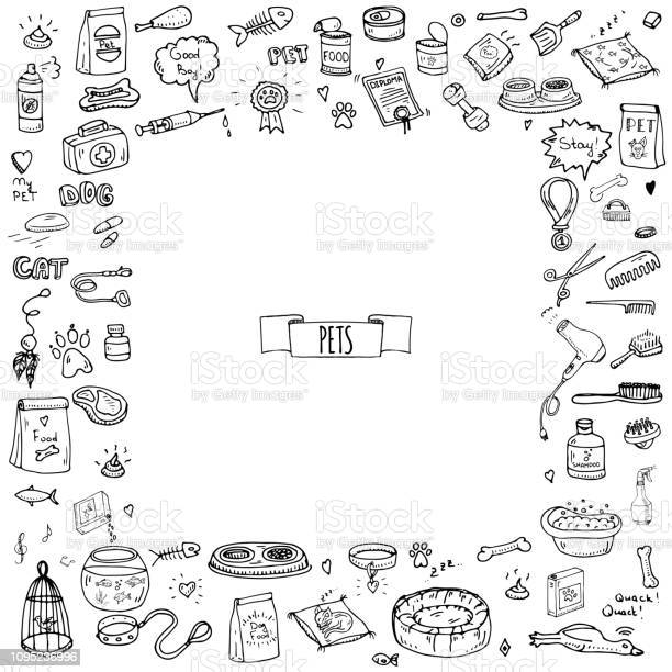 Hand drawn doodle pets stuff and supply icons set vector id1095236996?b=1&k=6&m=1095236996&s=612x612&h=3ureyl2hesl4d5sfrzaniznwa0z 09gt1n7pdnjiu64=