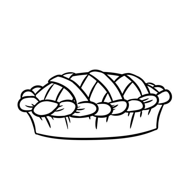 Best Apple Pie Illustrations, Royalty-Free Vector Graphics ...