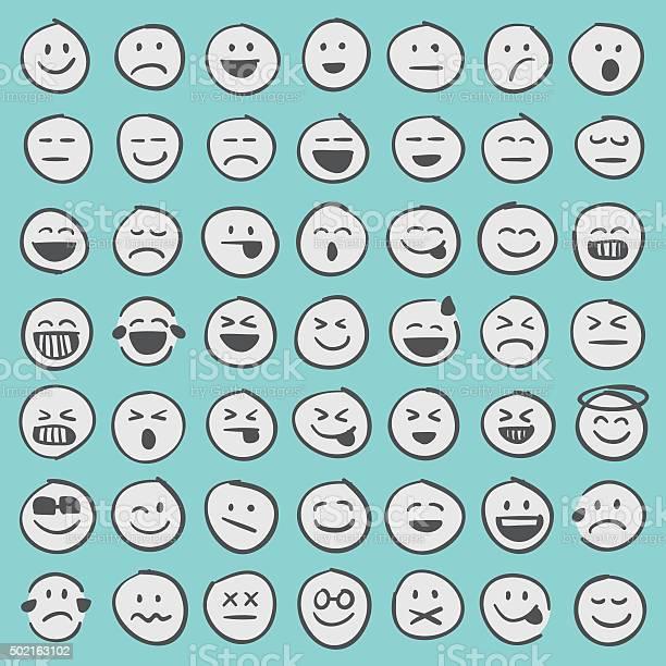Hand drawn emoji icons set 1 vector id502163102?b=1&k=6&m=502163102&s=612x612&h=4ydcafxmfxdv8n5fgiots2xrg5wnyblqltlwvwxxppi=