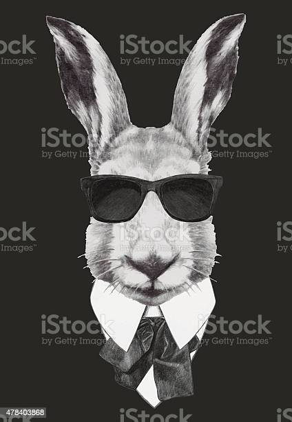 Hand drawn fashion illustration of rabbit vector id478403868?b=1&k=6&m=478403868&s=612x612&h=orv1xx qqjrr0ucpfkw7n 7h44z7tdjwp biowehlgo=