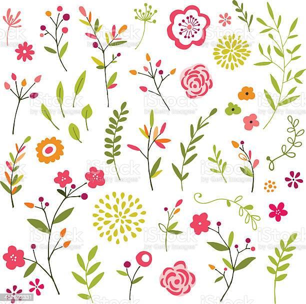 Hand drawn floral design elements vector id482692331?b=1&k=6&m=482692331&s=612x612&h=6jtpbafjxoo4eg99mf karajuusiqytsfzlajeo uoq=