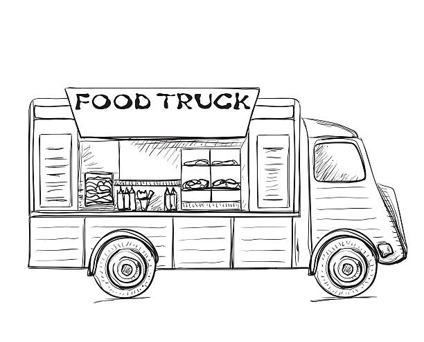 Best Street Food Illustrations, Royalty-Free Vector ...