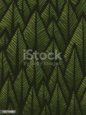 istock Hand drawn Forest Background 165749987
