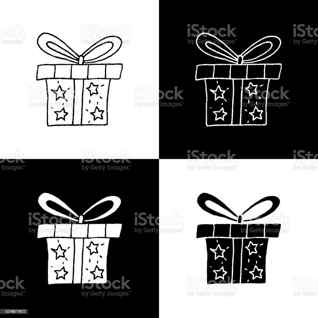 Hand Drawn Gift Box Vector Illustration Set Stock Illustration Download Image Now Istock