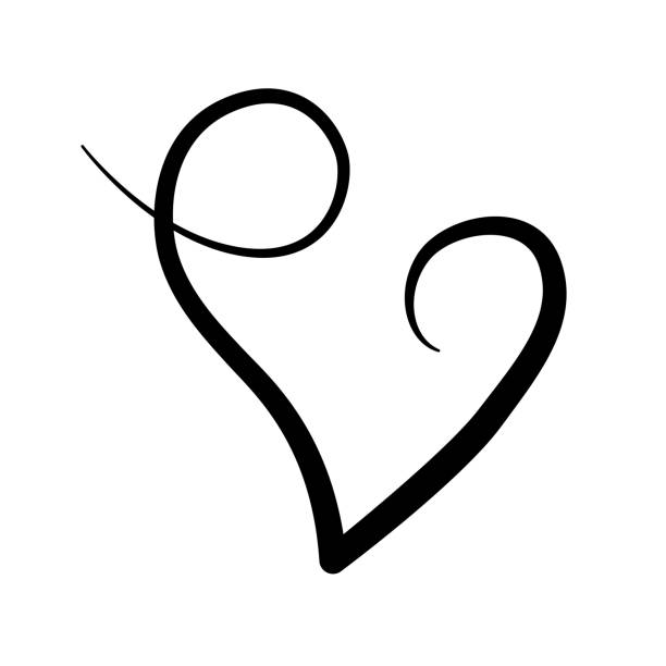 Download Clip Art Of A Cursive Love Illustrations, Royalty-Free ...