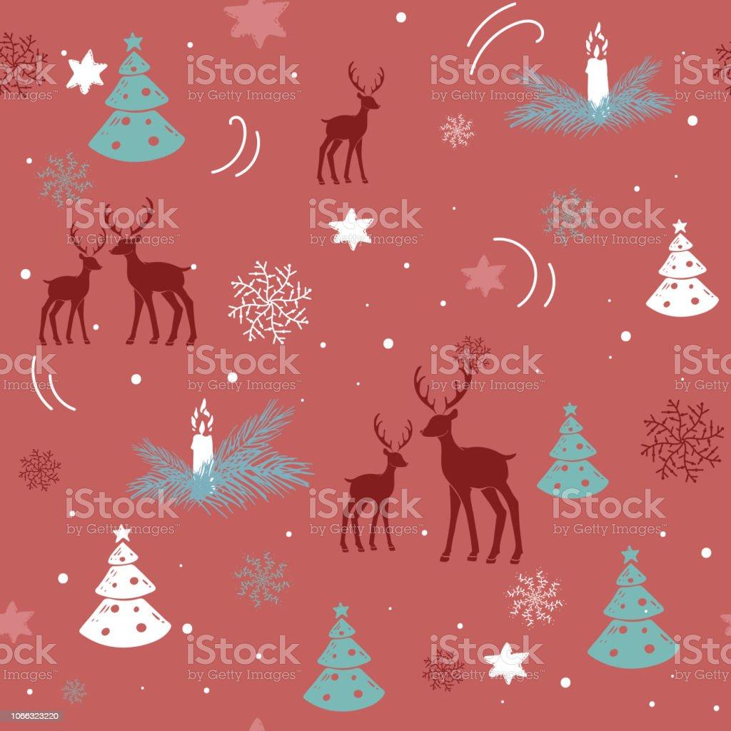Illustration De Dessines A La Main Dessin Joyeux Noel 2018 En