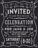 Hand drawn invitation.  Hi res jpeg and additional AI file with font list included. Scroll down to see more illustrations linked below.