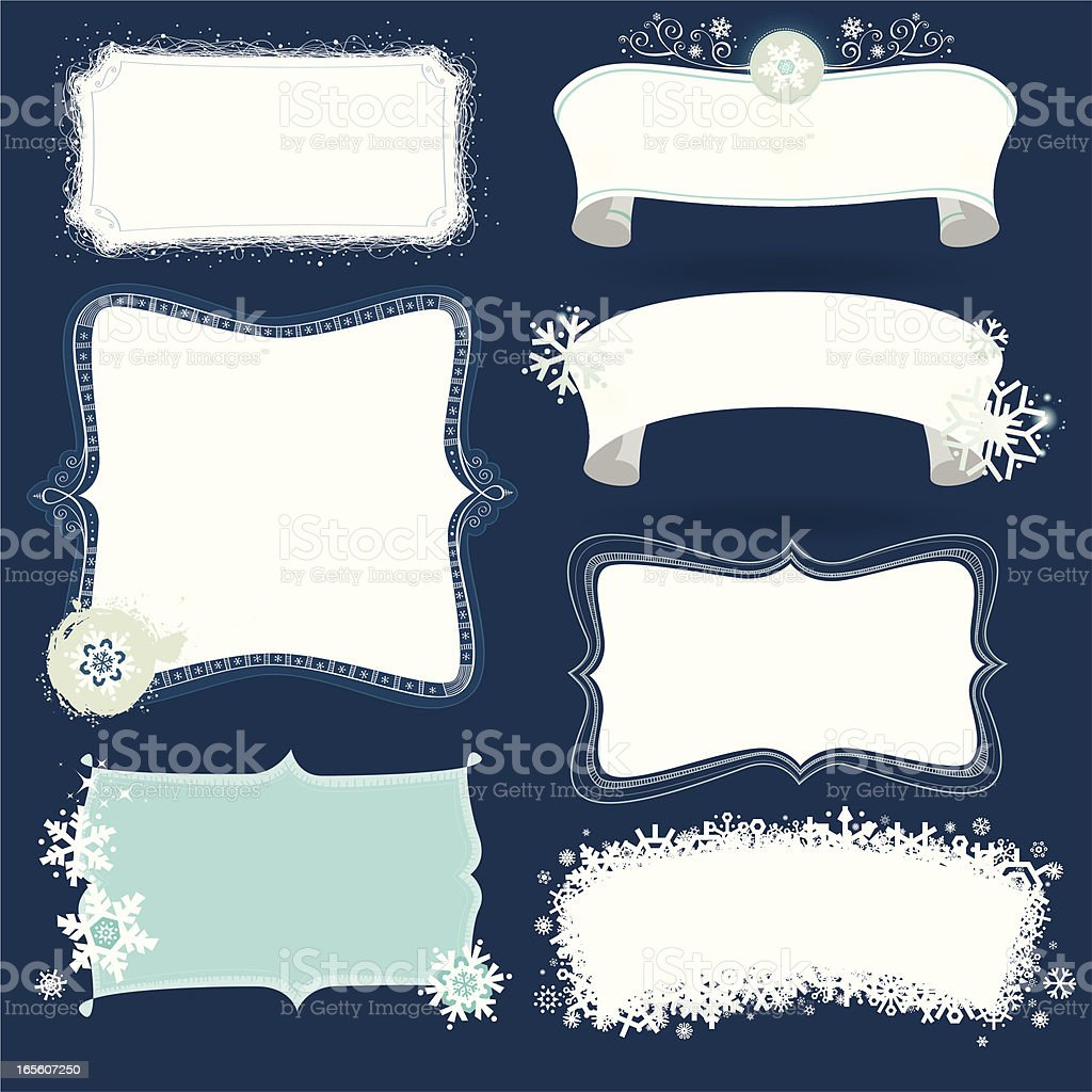 hand drawn labels collection vector art illustration