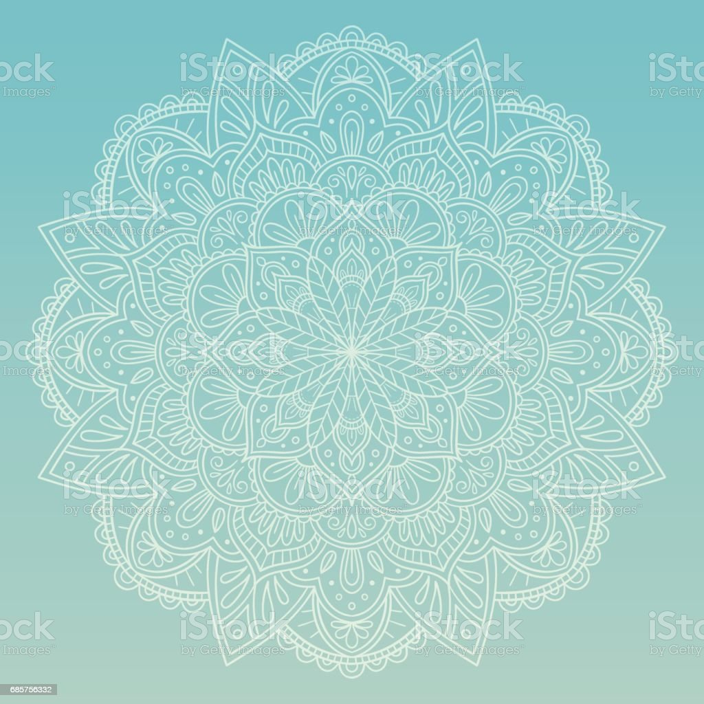 Hand Drawn Mandala Design Perfect For Backgrounds Invitations
