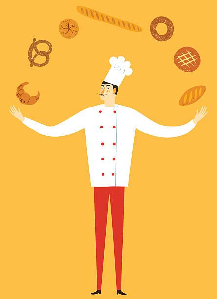 illustrations, cliparts, dessins animés et icônes de main dessinée migty directeur avec logo - boulanger