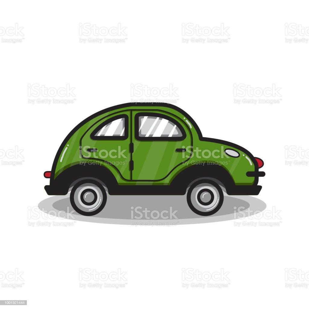 手描きの多目的車車イラスト いたずら書きのベクターアート素材や画像