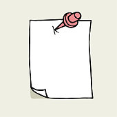 Hand drawn notepaper
