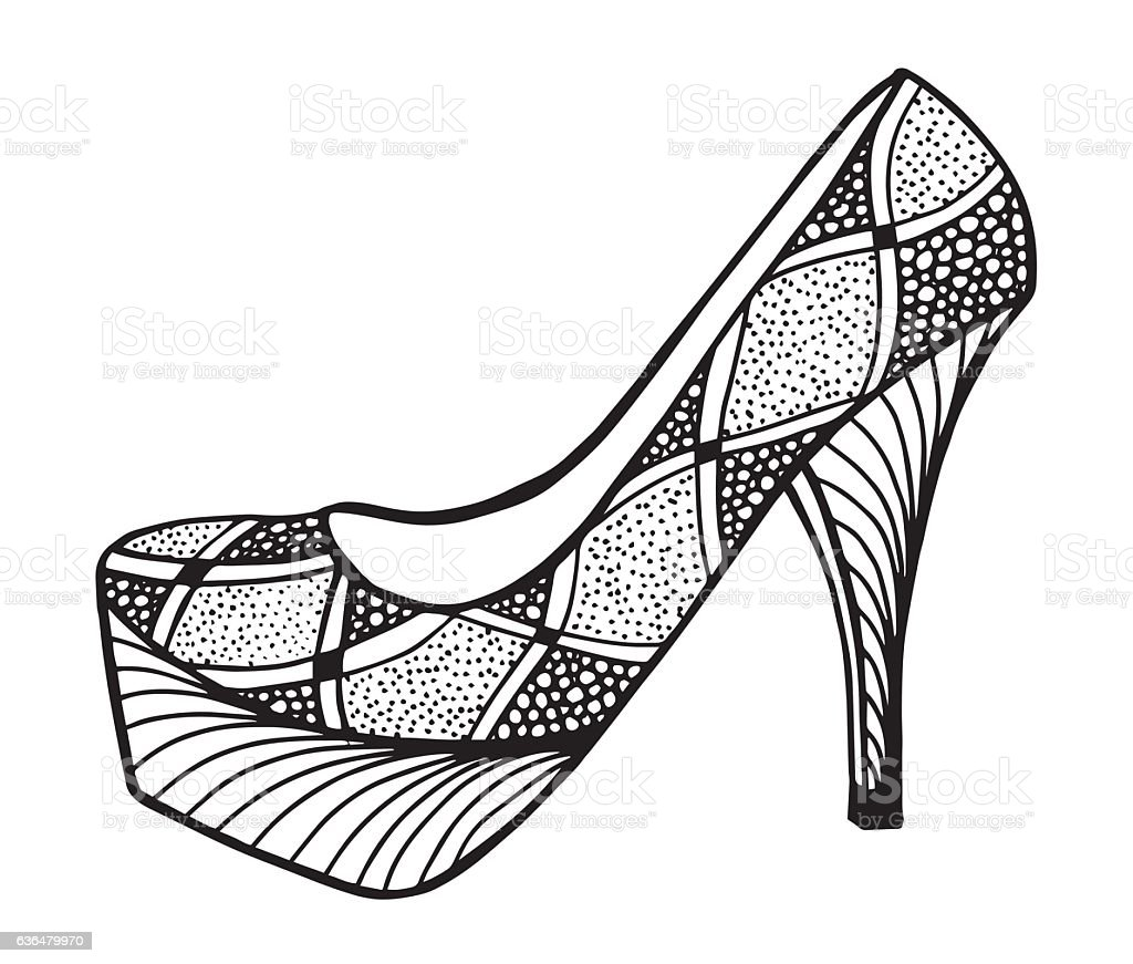Desenhando com Lápis: Desenhar sapato alto feminino: Passo a