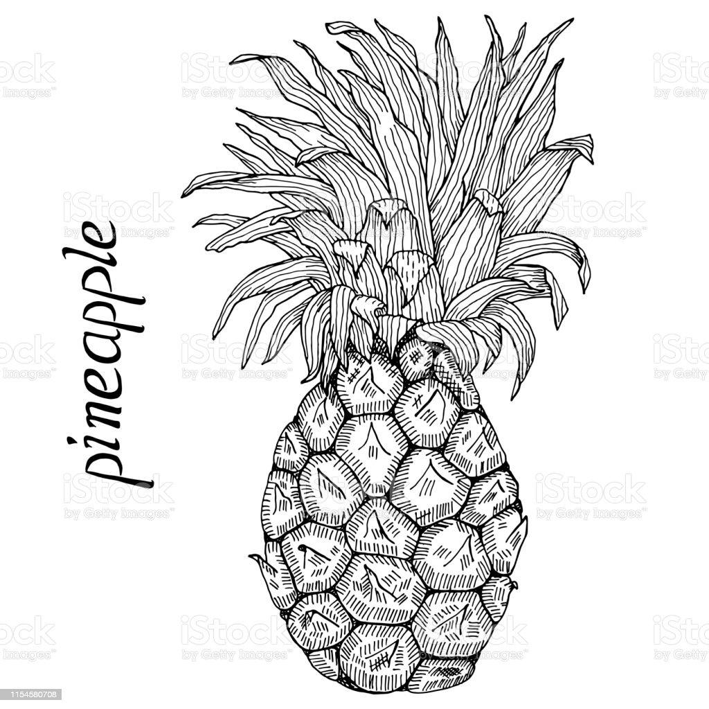 16 Ananas Zum Ausmalen - Besten Bilder von ausmalbilder