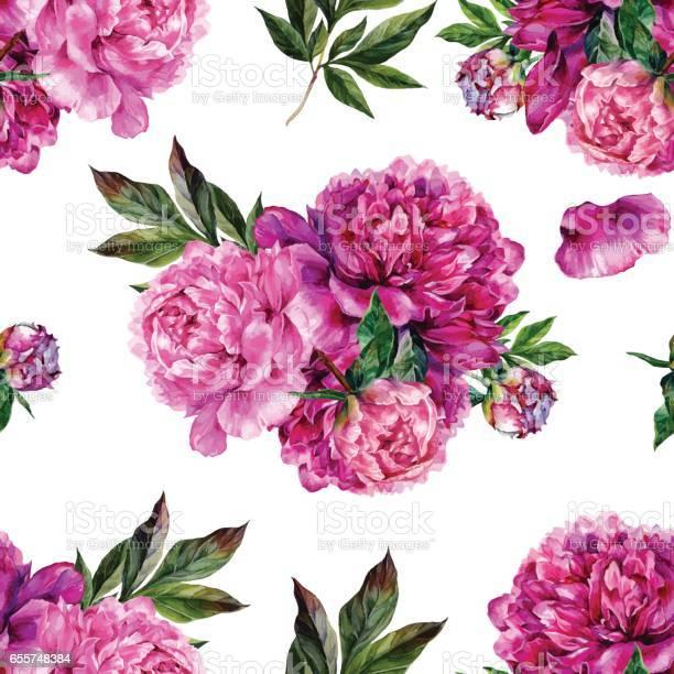 Hand drawn pink peonies bouquet seamless pattern vector id655748384?b=1&k=6&m=655748384&s=612x612&h=krd5by p9js89fgtmc4tym yluurabimko58hi8uu08=