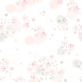 Vector seamless pattern. Template for textile, wallpaper, wrapping, cover, web, card, carton, print, banner, ceramics.