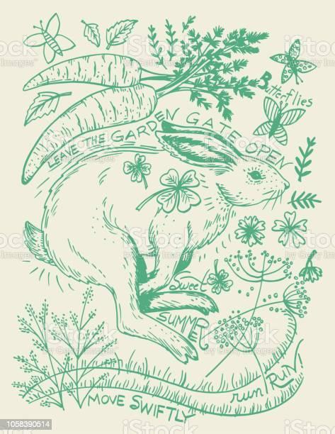 Hand drawn rabbit and plants vector id1058390514?b=1&k=6&m=1058390514&s=612x612&h=hftyqr8dk6eipmf7wyrhkorflx8fabcibc1roe4zhwg=
