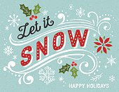 istock Hand Drawn Retro Holiday Card 516111673
