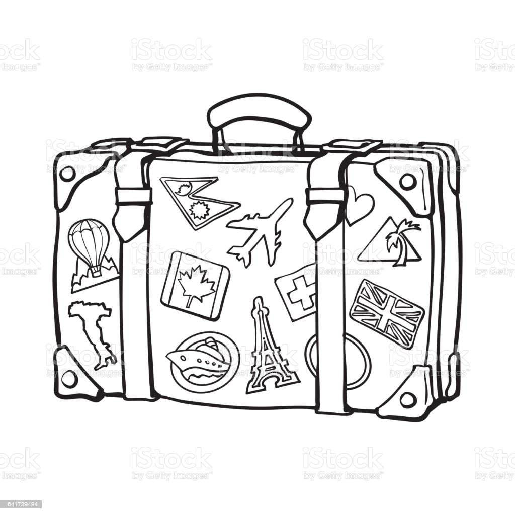 Travel Agent Clipart Black And White