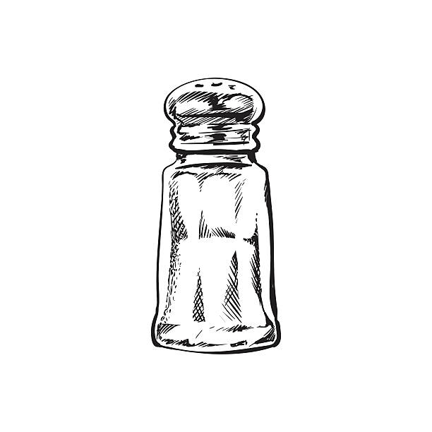 Best Salt And Pepper Shaker Illustrations, Royalty-Free ...