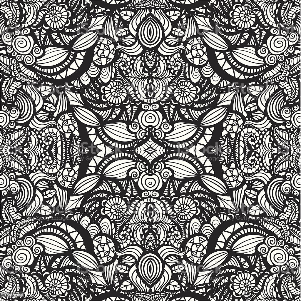 Hand drawn seamless pattern royalty-free hand drawn seamless pattern stock vector art & more images of abstract