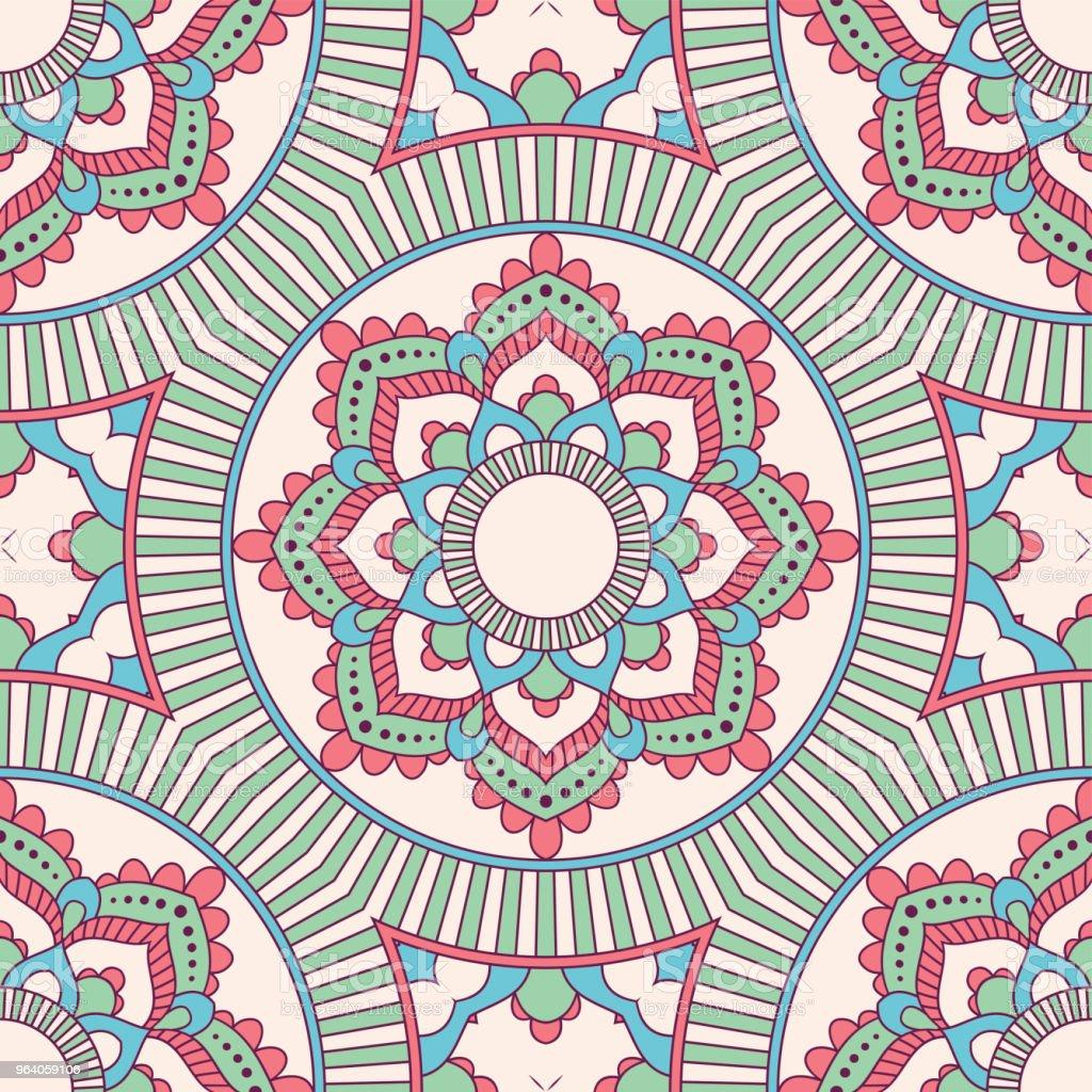 手描きのシームレスなパターン - いたずら書きのロイヤリティフリーベクトルアート