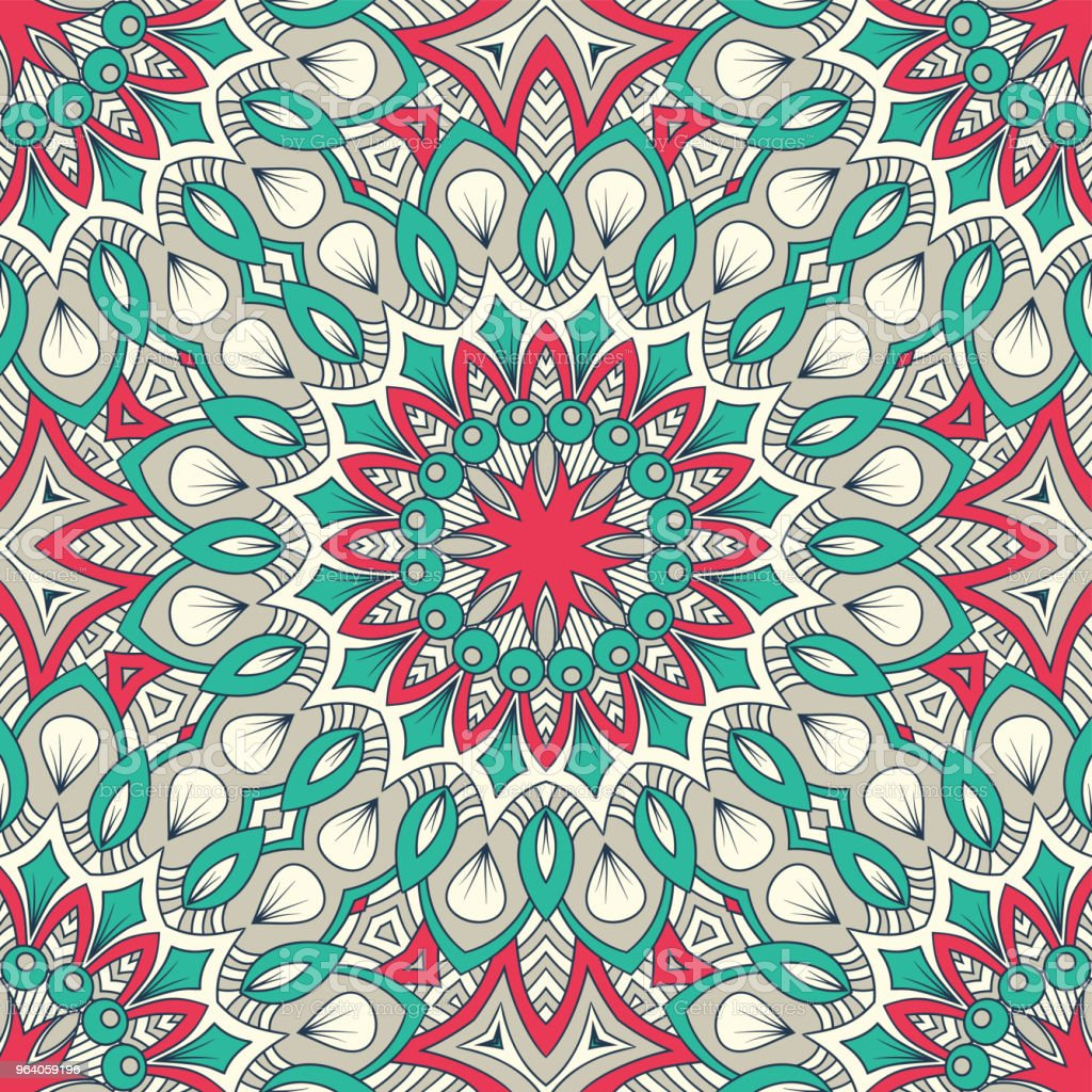 Hand drawn seamless pattern - Royalty-free Abstract stock vector