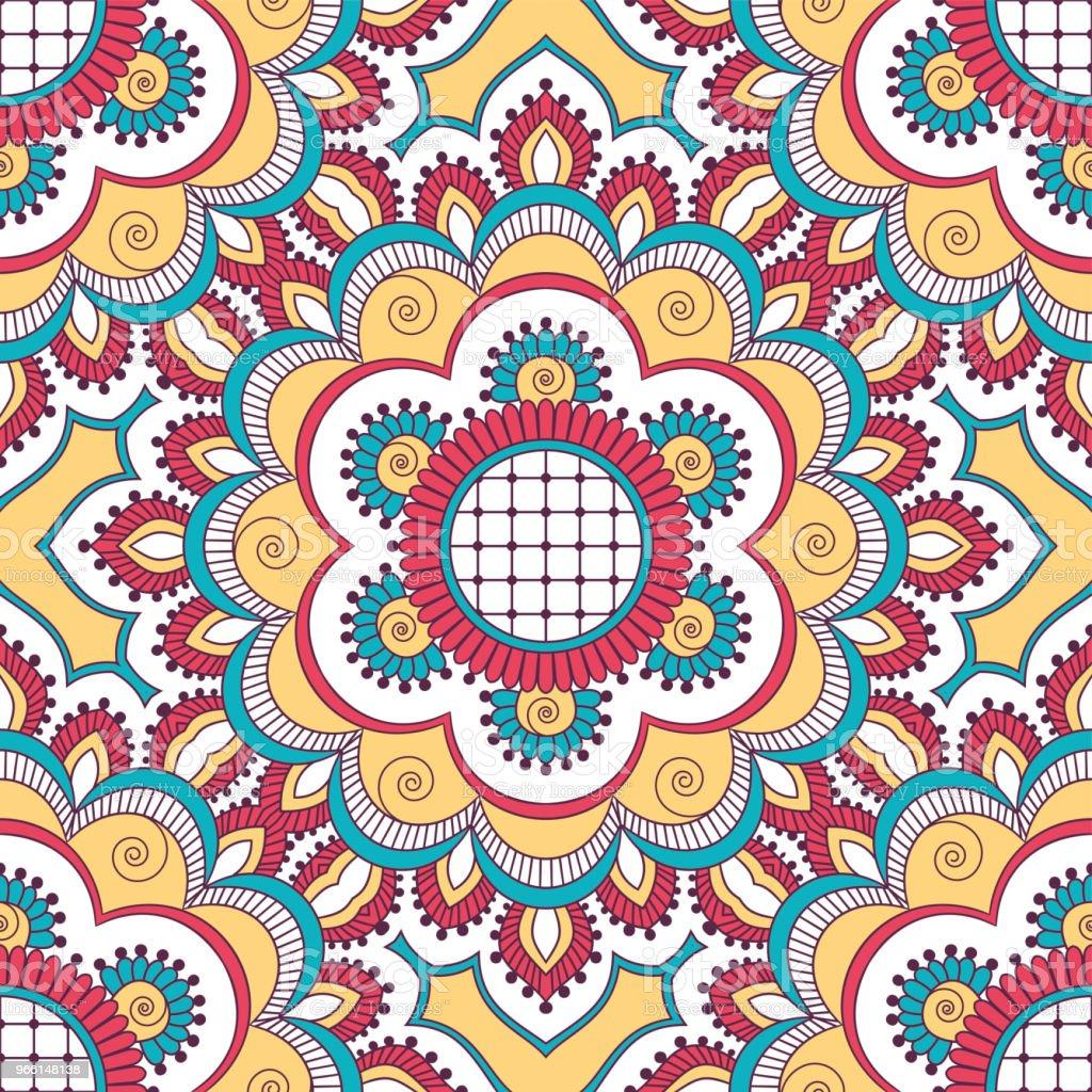 Hand drawn Nahtlose Muster - Lizenzfrei Abstrakt Vektorgrafik