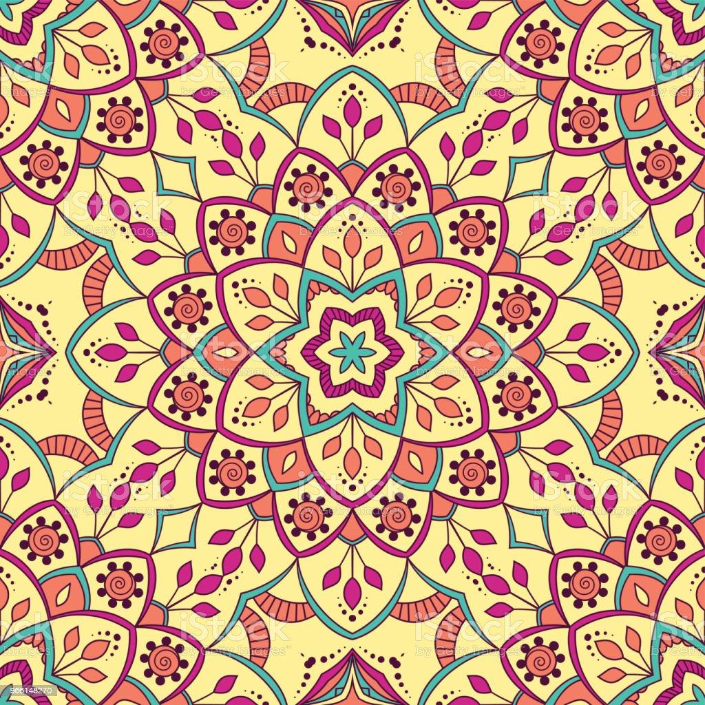 Hand drawn seamless pattern - Royalty-free Abstrato arte vetorial