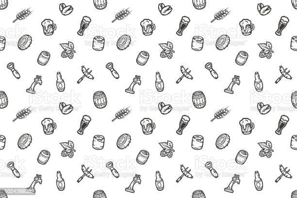 Hand drawn seamless pattern with beer stuff vector id1024266382?b=1&k=6&m=1024266382&s=612x612&h=iihmnpanczgjjhzdjli80ariubxlj4epfvzs3tbhrga=